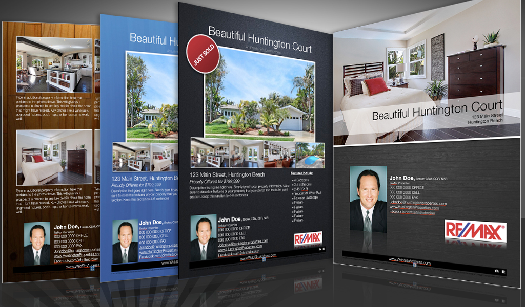 mac real estate flyer templates for open house brochures